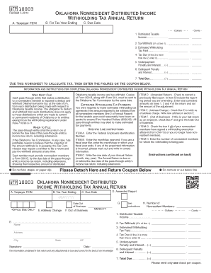 What Is A Form Ok Wtp10003 - Fill Online, Printable, Fillable ...