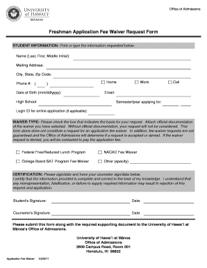 Nacac Fee Waiver Form Fillable - Fill Online, Printable, Fillable ...