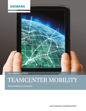 Teamcenter Mobility Installation On Ipad - Fill Online