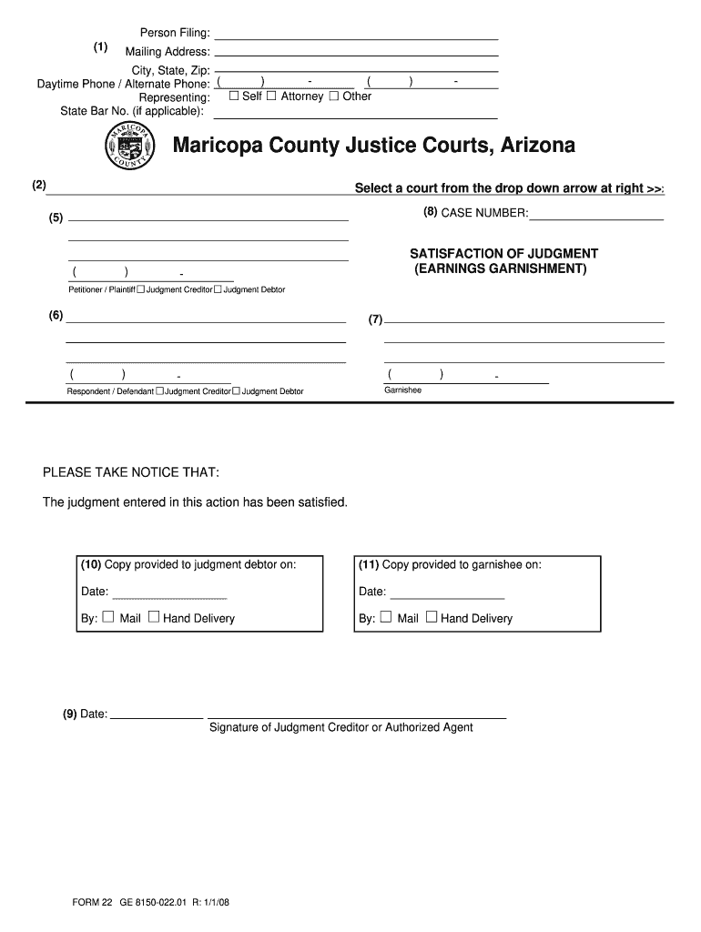 Satisfaction Of Judgment Form Texas - Fill Online, Printable