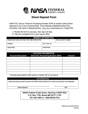 how to make a direct deposit online
