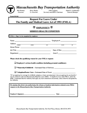 Fmla Form Templates - Fillable & Printable Samples for PDF, Word ...