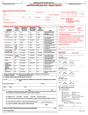 Fillable Online cim Federal Perkins (NDSL) Student Loan