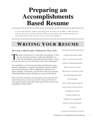 amazing accomplishment based resume ideas top resume revision