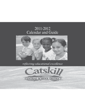 Calendar Template - Catskill Central School District