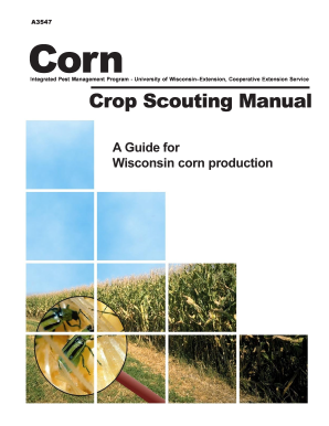 crop scouting report template form
