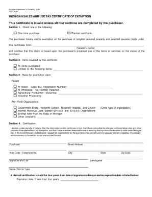 Michigan Form 3372 Tax - Fill Online, Printable, Fillable, Blank ...