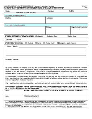 CHJ-121 Medical Release Form. ASC X12/005010X214E2 Health Care Claim Acknoledgment (277CA)