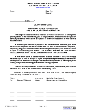 summons southern district of florida - Edit, Print