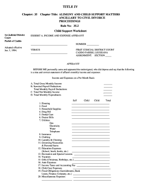 Printables Child Support Worksheet Kansas kansas child support worksheet fillable intrepidpath forms and templates fillable