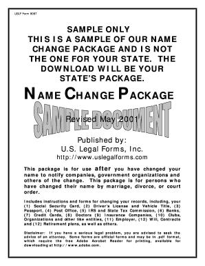 Fillable Online Uslf Form 9087 Fax Email Print Pdffiller