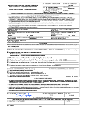 How To Write A Pest Control Report - Fill Online, Printable ...