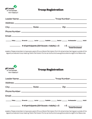 photo regarding Printable Registration Form Template identify Blank Registration Varieties Template - Fill On-line, Printable