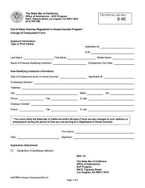 106 printable generic application for employment form templates