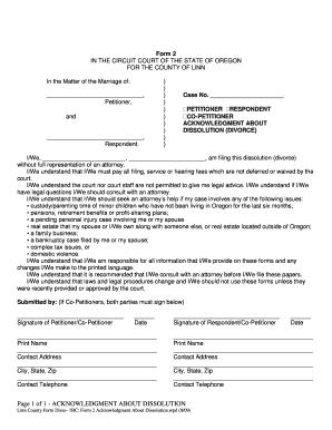 Acknowledgement Of Service Form | Acknowledgement Of Service Form Divorce Edit Print Fill Out
