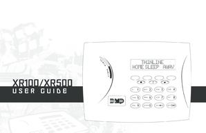 fillable online dmp xr100 xr500 alarm system manual dmp xr100 xr500 rh pdffiller com Honda XR100 Honda XR100R