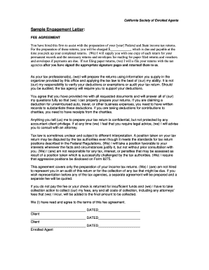 50815961 Tax Consulting Enement Letter Template on
