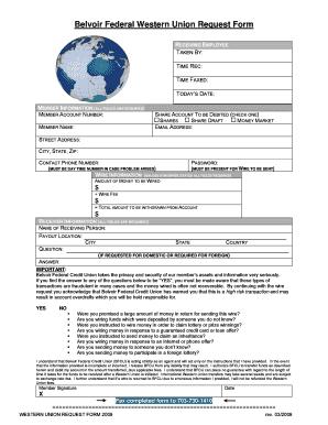 western union money transfer receipt generator - Edit, Print
