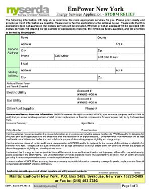 Fillable Online otda ny EmPower New York - otda ny Fax