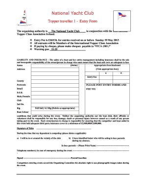 entry form template word - Editable, Fillable & Printable Online ...