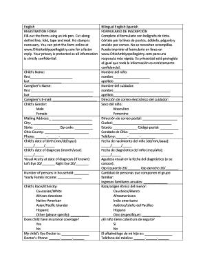 forms english spanish
