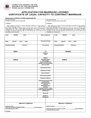 123 Printable Marriage Contract Sample Forms And Templates
