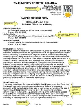 Fillable online sample consent form ubc psychology university of rate this form maxwellsz