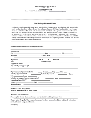 transfer of dog ownership form fill print download online samples templates animal. Black Bedroom Furniture Sets. Home Design Ideas