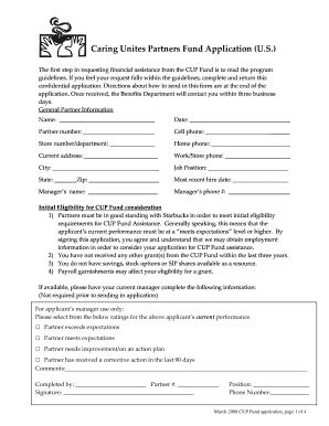 image regarding Starbucks Printable Application called Cup Fund - Fill On line, Printable, Fillable, Blank PDFfiller