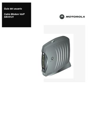 Motorola sbv5121 user manual   page 7 / 58   original mode.