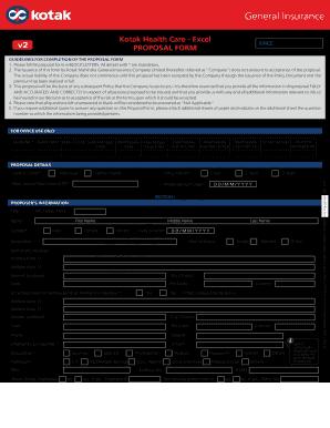 Fillable Online Download Application Forms - Kotak Life ...
