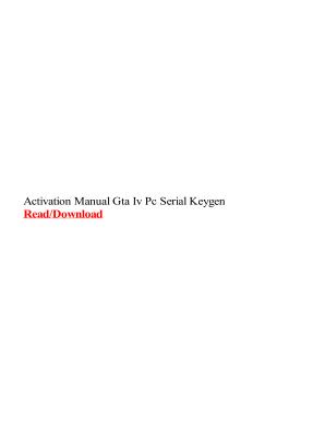 Gta 4 Serial Key And Unlock Code Generator
