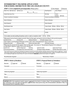 Fillable Online ccusd Interdistrict Transfer Application.pdf ...