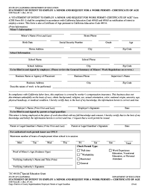 2012-2017 Form CA CDE B1-1 Fill Online, Printable, Fillable, Blank ...