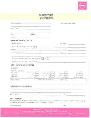 52033057 Qlm Medical Claim Form on