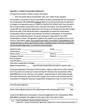19 Printable Sample Transportation Release Form Templates