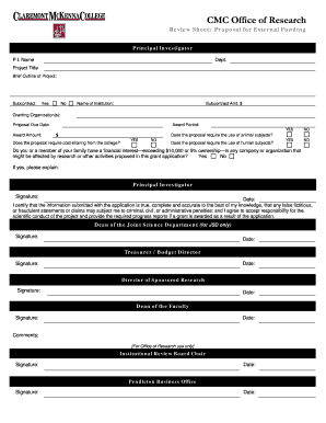 Proposal Form template.doc