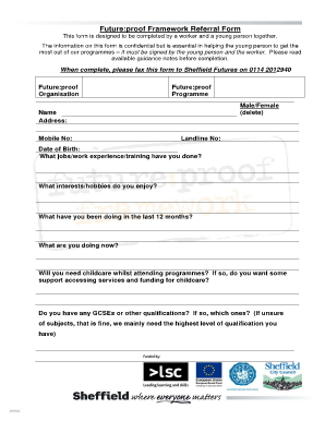 sheffield council tax exemption form