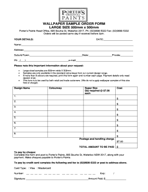 order form sample Templates - Fillable & Printable Samples for PDF on