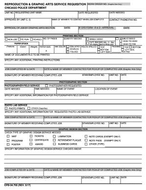 graphic design requisition form - Edit, Print, Fill Out