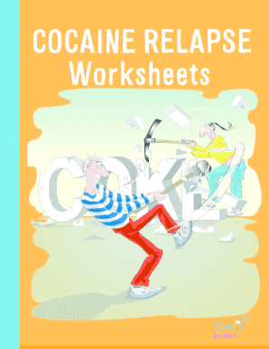 Fillable Online Cocaine Relapse Worksheet PDF 199kb - Saol Project ...