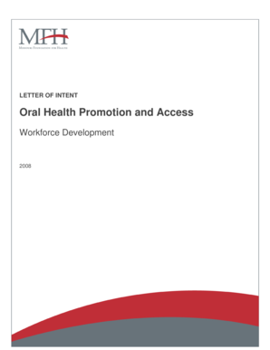 Oral Health Promotion and Access - mffh