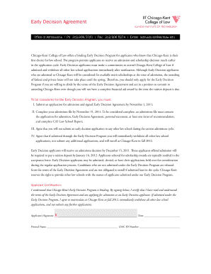 Fillable sublease agreement chicago edit print download form early decision agreement iit chicago kent college of law early decision agreement platinumwayz