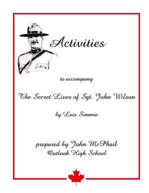 the secret lives of sgt john wilson