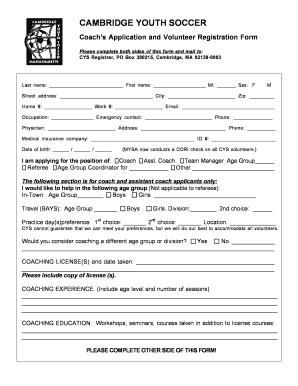 52084529 Sample Coaching Application Form on us passport renewal, business credit, u.s. passport, for matron job, auto loan, german schengen visa, car loan,