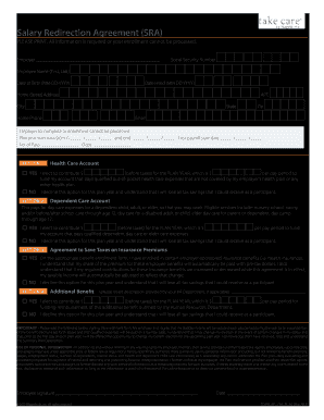 Wageworks Salary Redirection Agreement - Fill Online, Printable ...