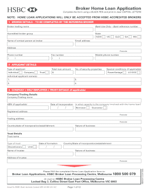How To Fill Form Of Home Loan - Fill Online, Printable, Fillable, Blank | PDFfiller