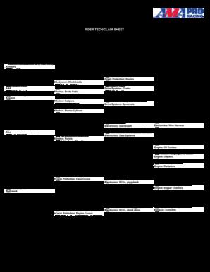 53318473 4739TECHSHEETpdf HOMESTEADMIAMI SPEEDWAY HOMESTEAD FL Various Fillable Forms