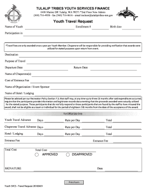 Editable request for hotel corporate rate letter sample fill out youth travel request tulalip tribes spiritdancerdesigns