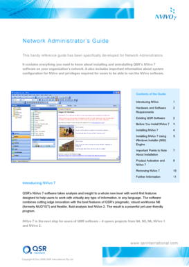 Network Administrator's Guide - QSR International